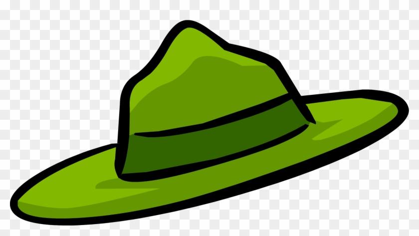 Club Penguin Clip Art - Park Ranger Hat Clipart #22642
