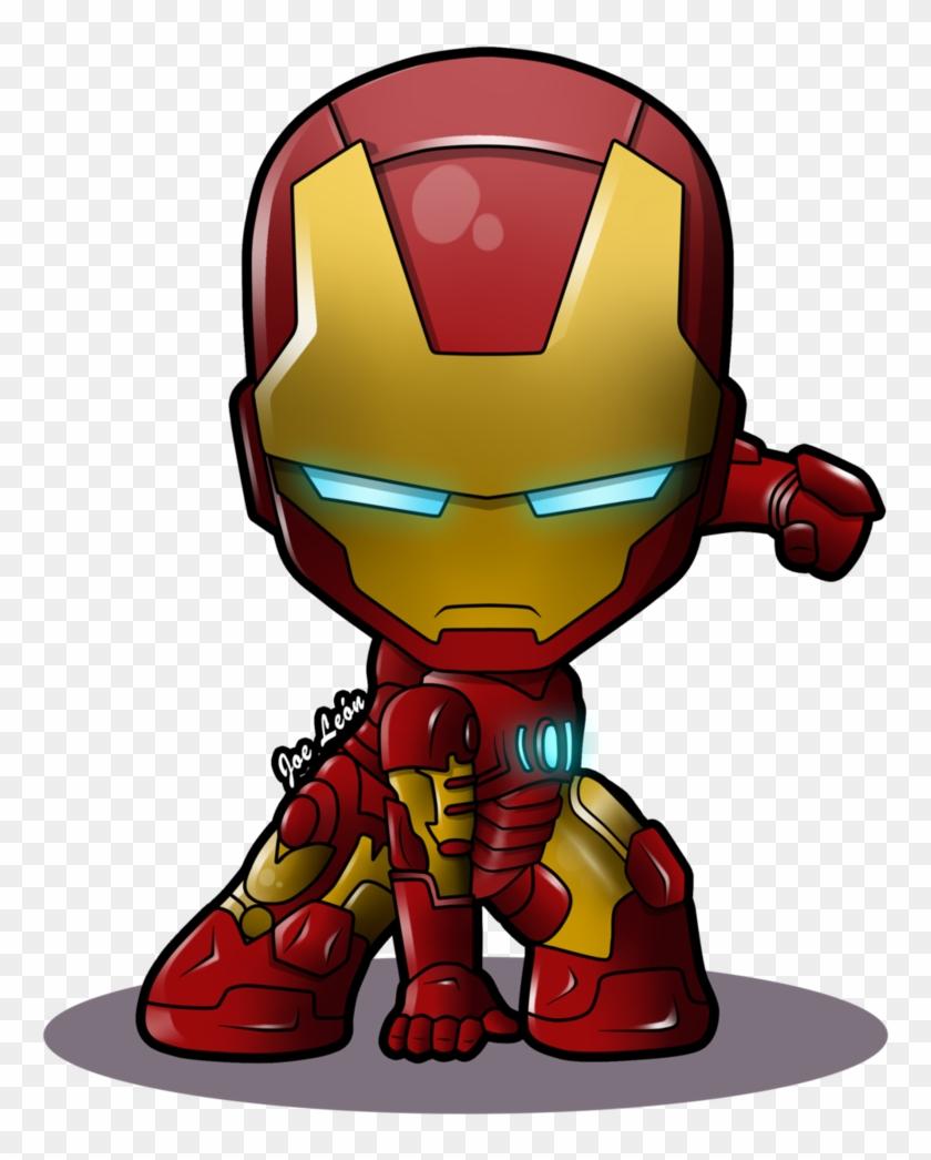 Iron Man Chibi By Joeleon-dag5phv - Iron Man Cartoon Png #22673