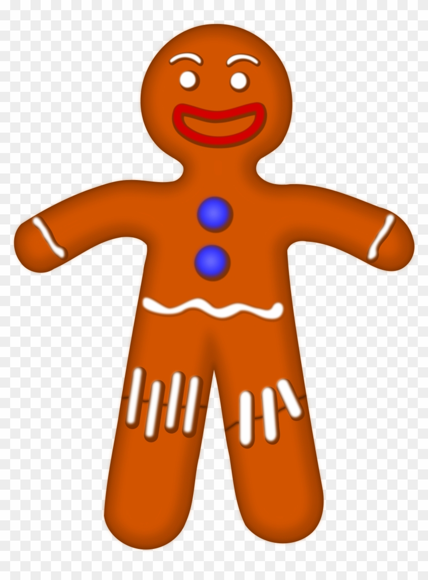 Clipart Of Gingerbread Man - Clipart Of Gingerbread Man #22679