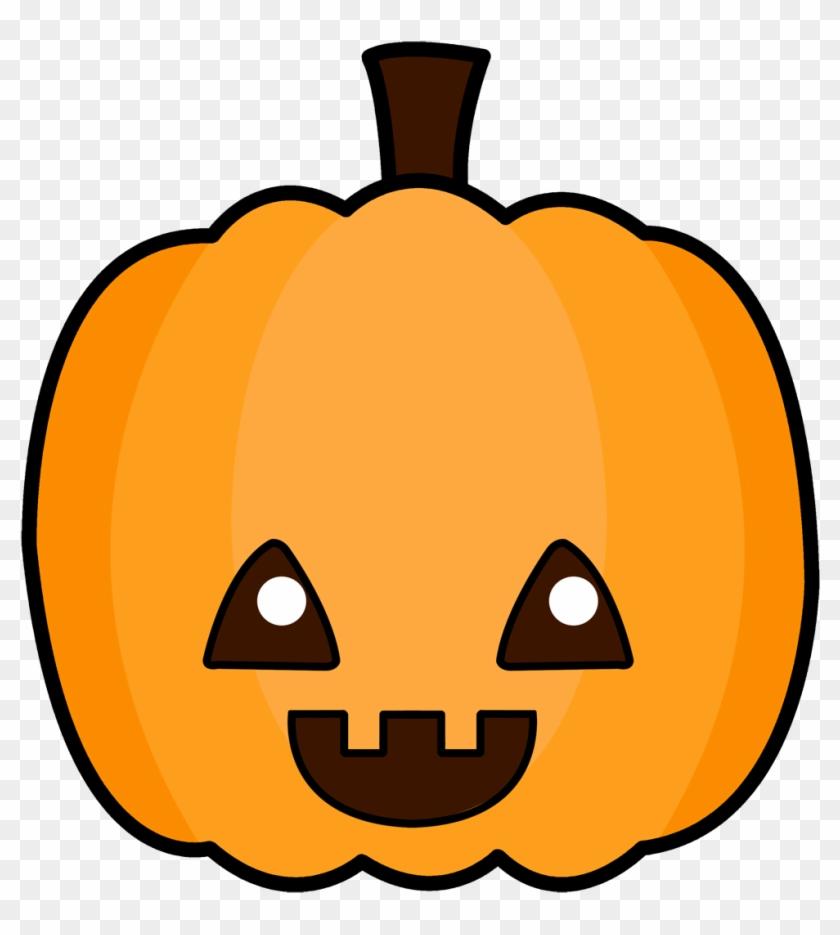 Cute Pumpkin Clipart - Cute Cartoon Jack O Lantern #22700
