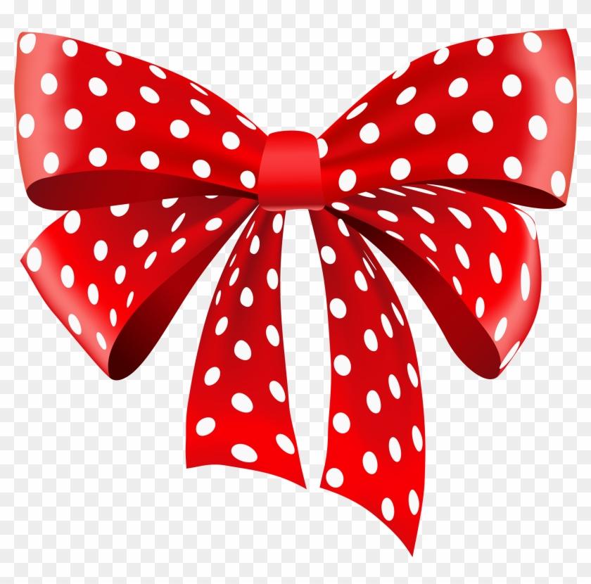 Polka Dot Ribbon Png #22717