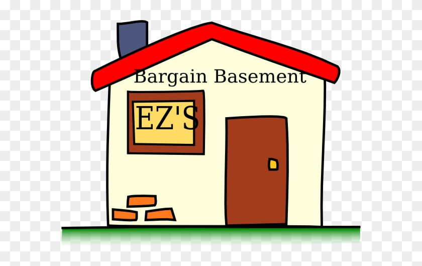 Bargain Clip Art - Simple Cartoon House #22711