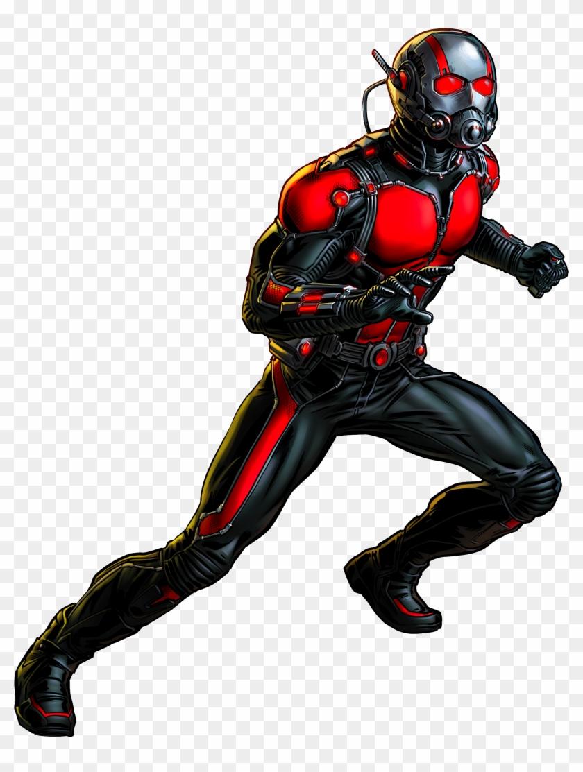 Ant Man By Alexiscabo1 Marvel Pinterest Art On Clip - Ant Man Marvel Alliance #22736