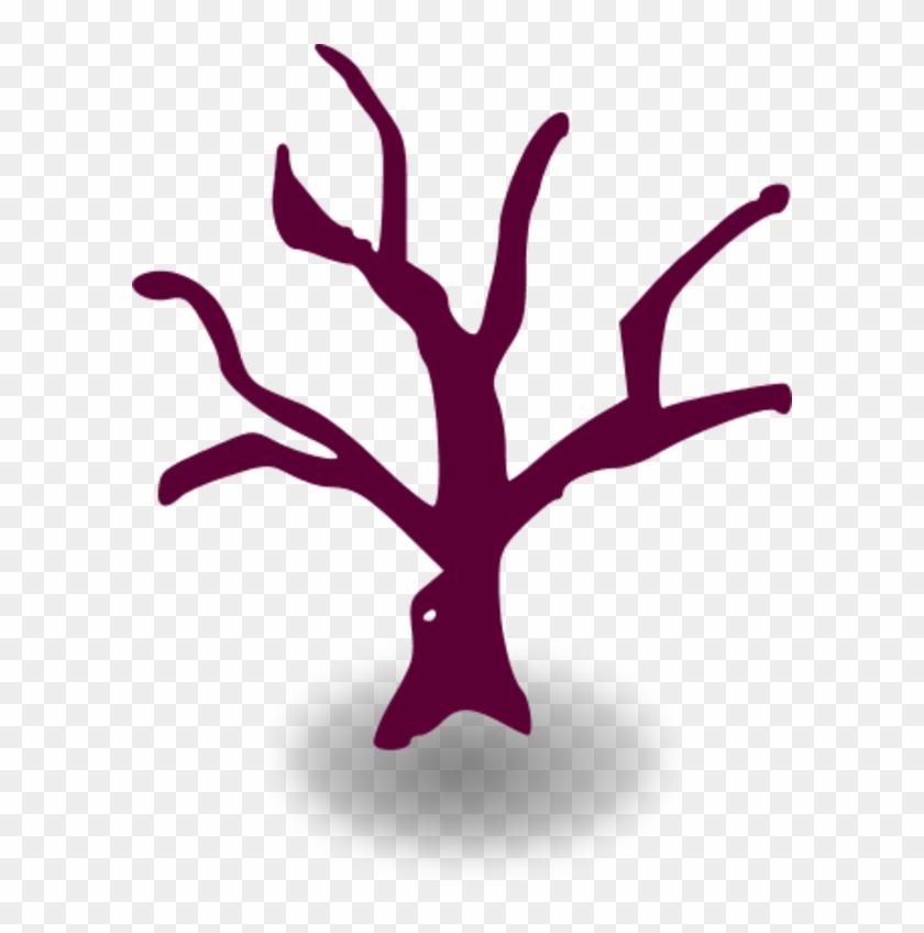 Dead Tree Cartoon Vector Clip Art - Tree Graphic Organizer Template #22737
