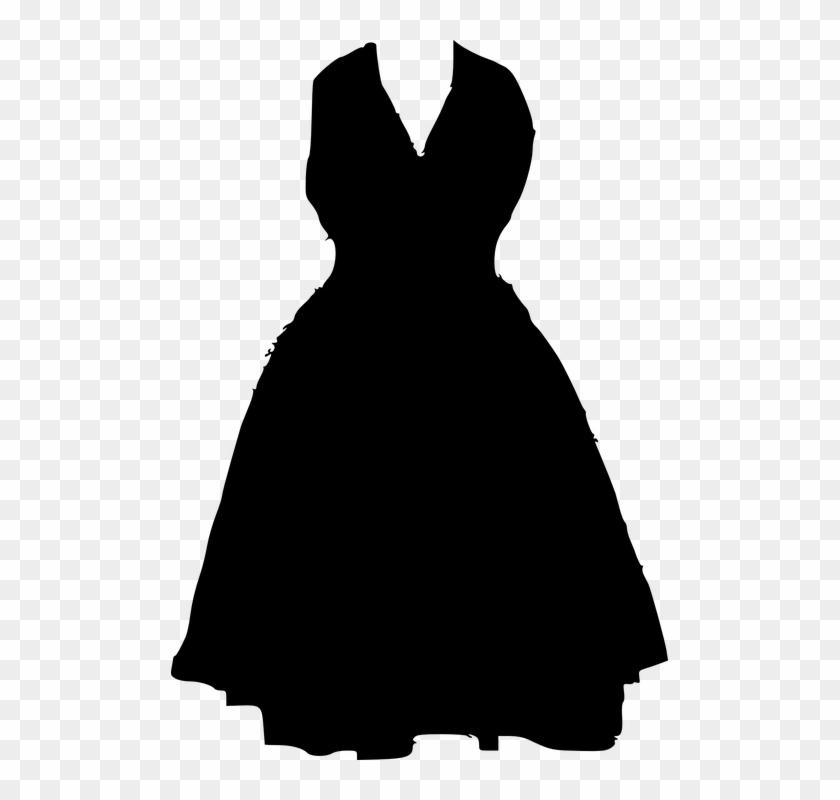 Responder Clipart - Black Dress Png #22754