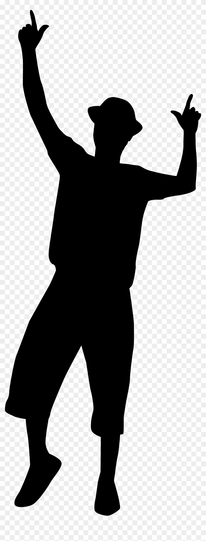 Dancing Man Silhouette Png Clip Art Imageu200b Gallery - People Dancing Drawing #22766