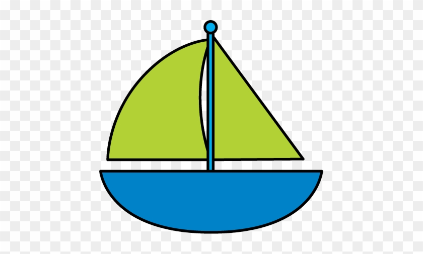 Cute Boat Clip Art Clipart - Sailboat Clipart #22759