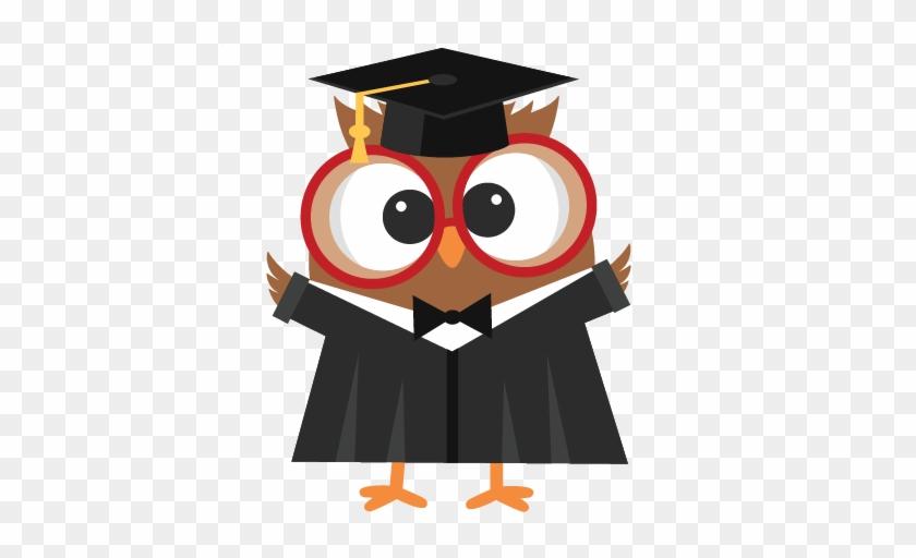 Graduation Owl Svg Scrapbook Cut File Cute Clipart - Owl Graduation Png #22783