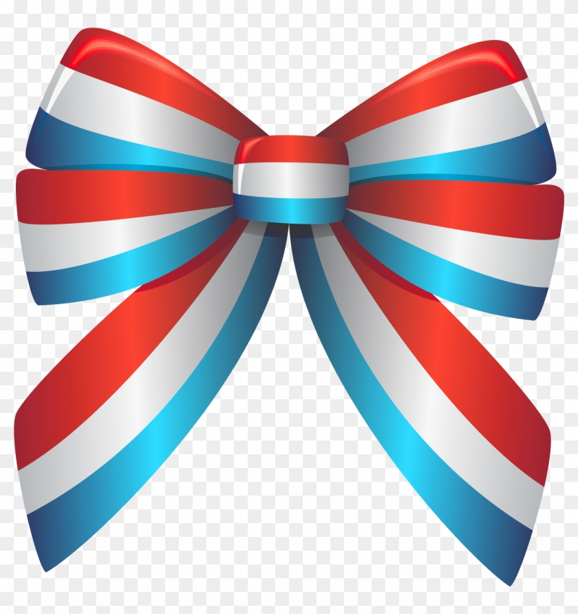 Ribbon Red And Blue #22798