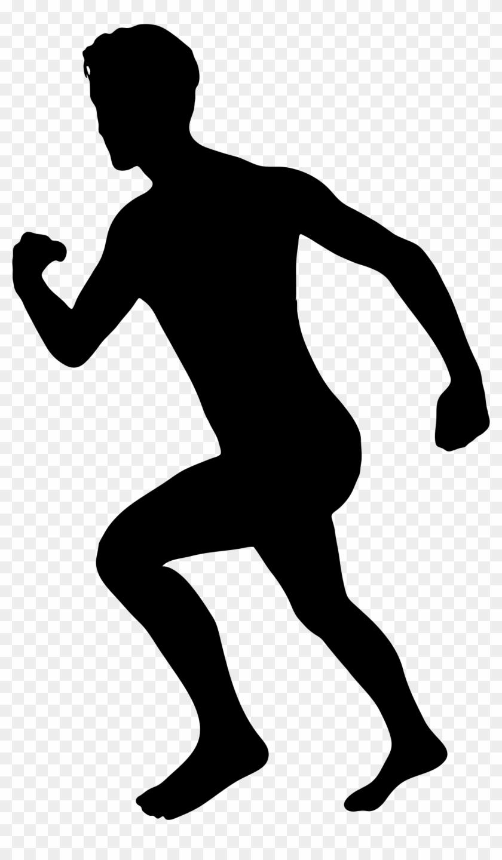 Free Clip Art Of Person Running Clipart The - Running Man Clip Art #22807