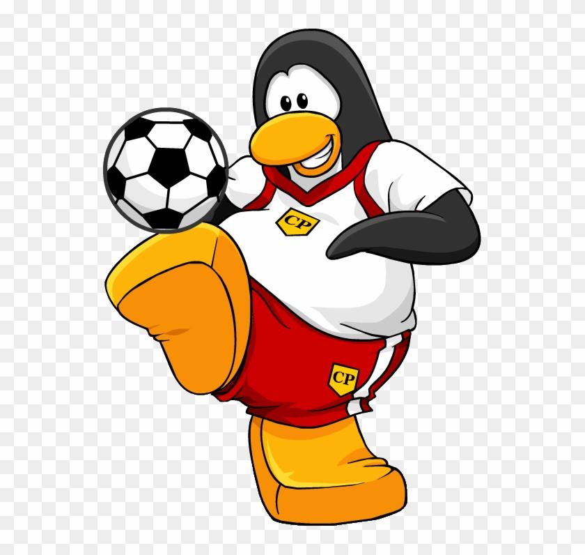 Penguin Clipart Sport - Club Penguin Sports #22815