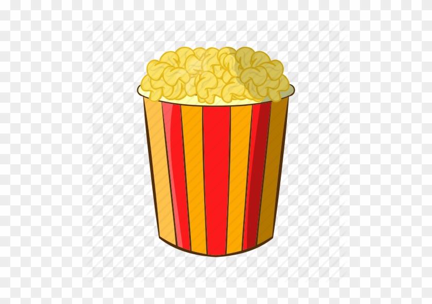 Cartoon Popcorn - Popcorn Cartoon #22830