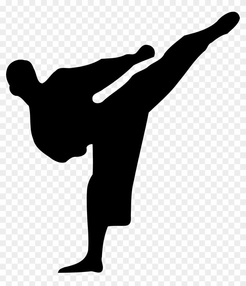 Karate Clip Art - Karate Silhouette #22824