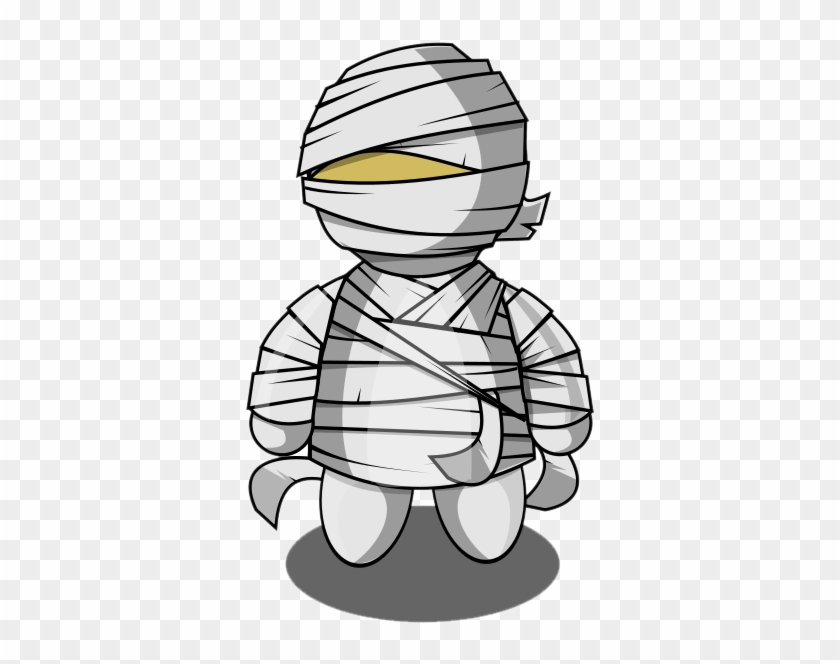 Cute Halloween Mummy Clip Art Free Clipart Images - Mummy Clipart Png #22847