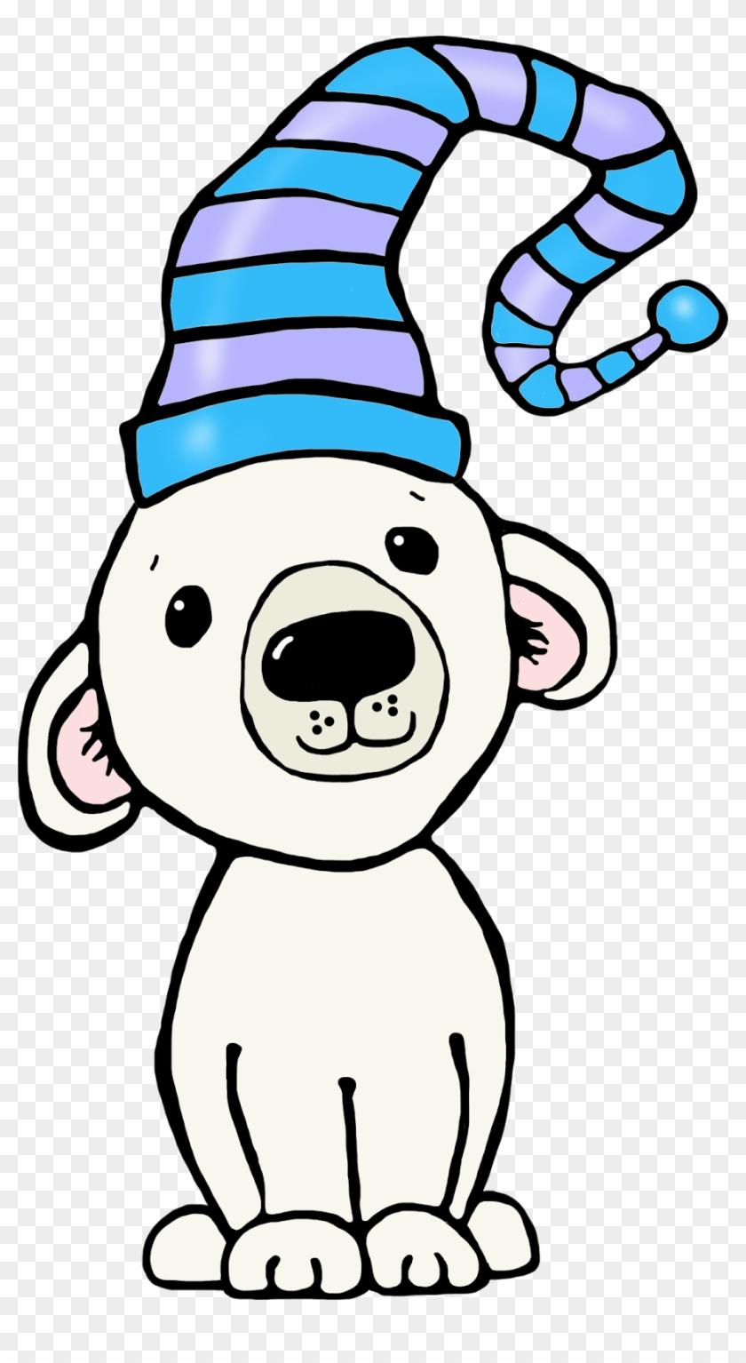 Whimsical Christmas Clip Art Whimsy Workshop Teaching - Polar Bears And Penguins Clipart #22853