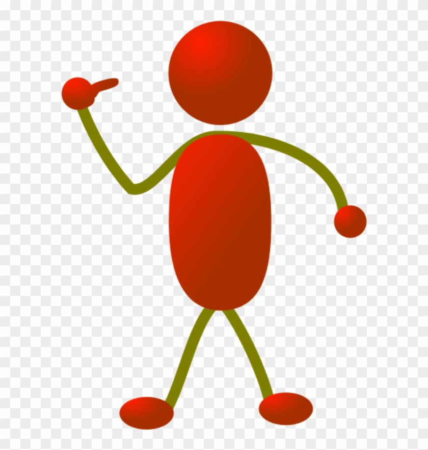 Stickman Pointing Finger To Himself - Someone Pointing To Themselves #22883