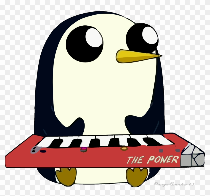 Penguin Power By Panzerknacker73 On Clipart Library - Draw Gunter From Adventure Time #22900