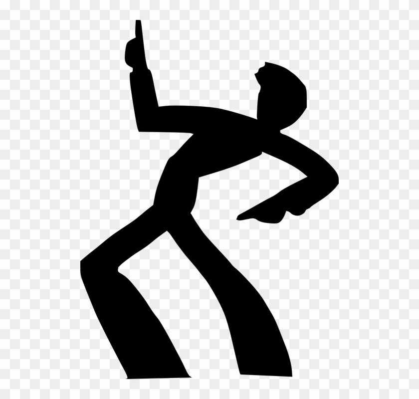 Man Clipart Disco - Person Dancing Clip Art #22943