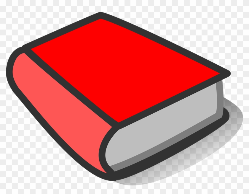 Blank Red Book Cover #22945
