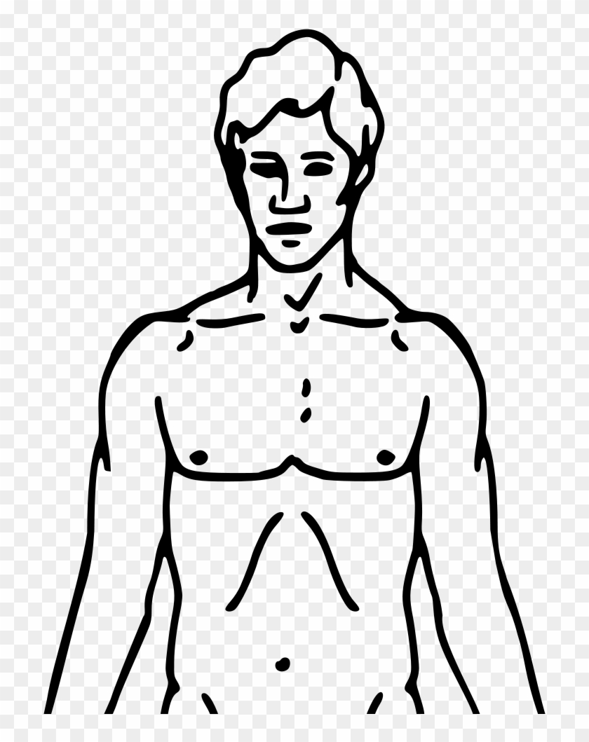 Person Body Clipart Outline Printable Free Download - Chemical Basis Of Love #22967