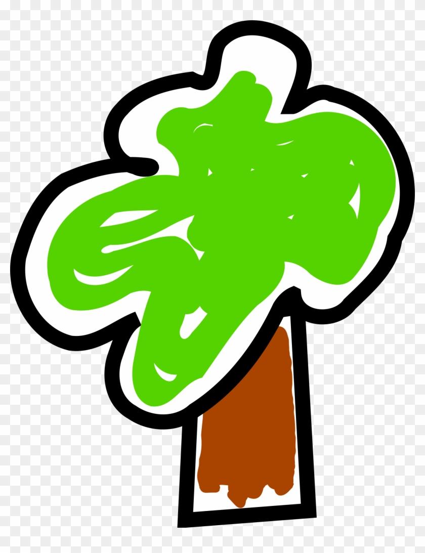 Tree-arbol 02 - Arbol Dibujado En Png #22972