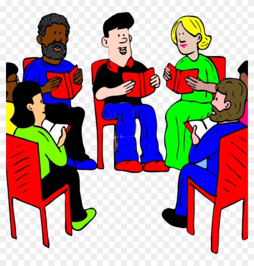 Guided Reading Clipart Group Of Readers Clip Art At - Things I Heard In Meetings: Recovery In Short Quotes #22986