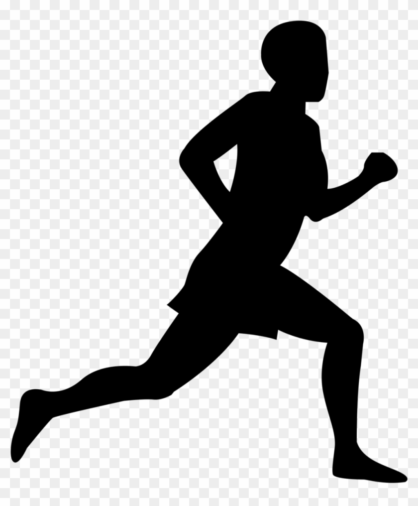 Free Clip Art Of Person Running Clipart - Running #22990