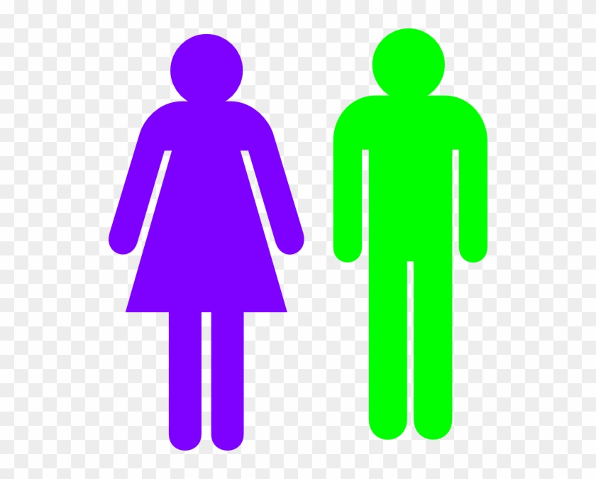 Man Silhouette Sitting - Boy And Girl Gender #22995