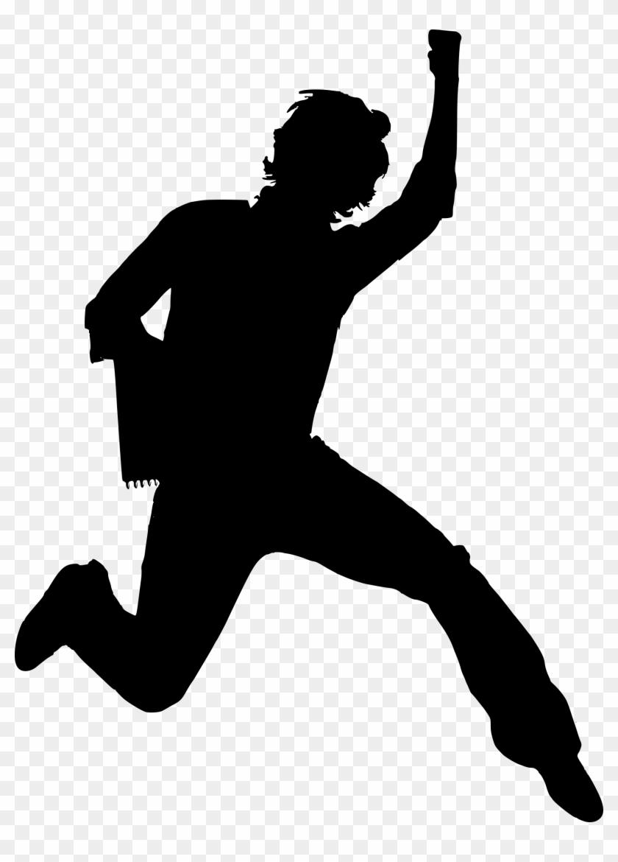 Happy Person Free Vector Graphic Boy Guy Happy Jump - Happy Guy Clipart #22996