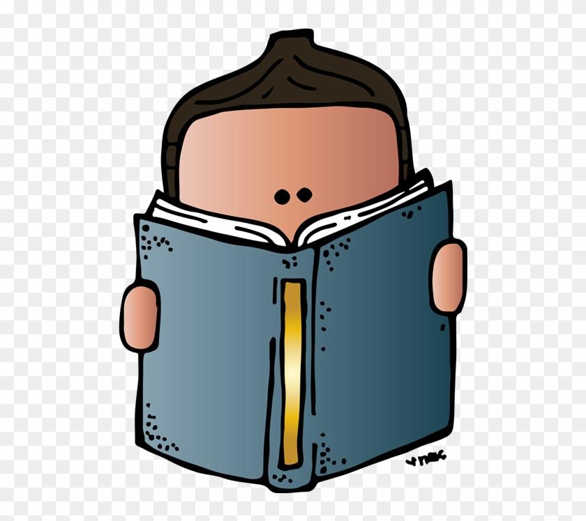 Reading Clipart Melonheadz - Melonheadz Reading Clipart #23006