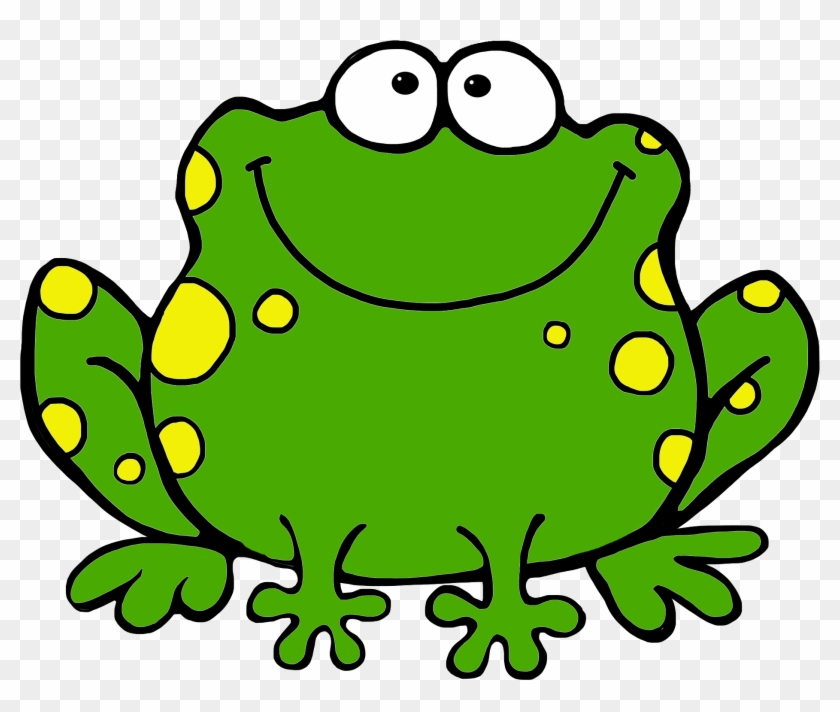 Cartoon Frogs Clipart - Speckled Frog Clip Art #23058