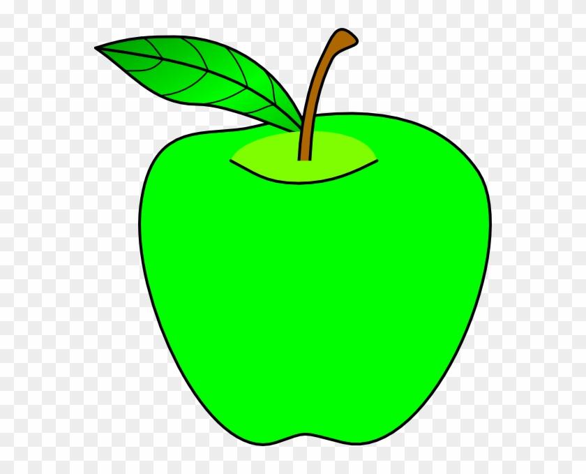 Green Apples Clipart Apple Clip Art At Clker Com Vector - Apple Clip Art #23072