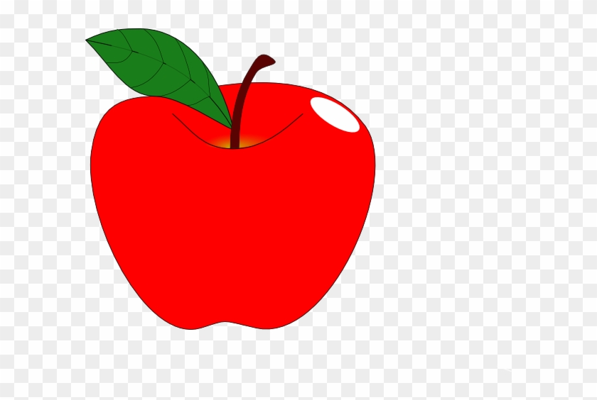 Apple Clipart Red Apple 1 Clip Art At Clker Vector - Clip Art #23117