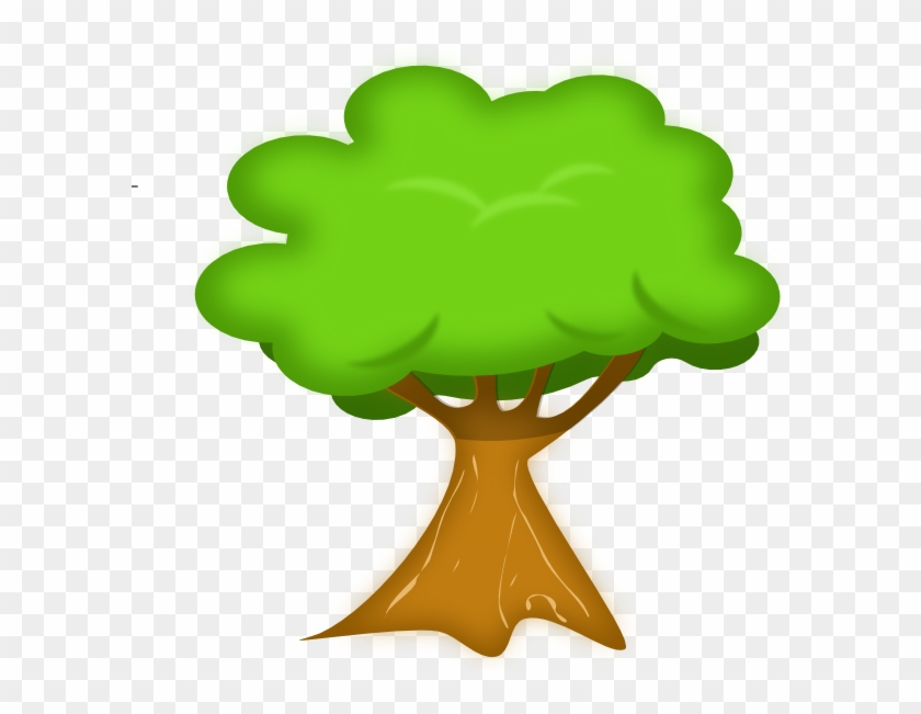 Cute Simple Green Tree - Tree Clipart No Background #23138