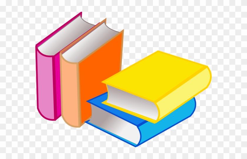 Bugs Reading Books Clip Art Books2 Clip Art - Books And Toys Clipart #23142