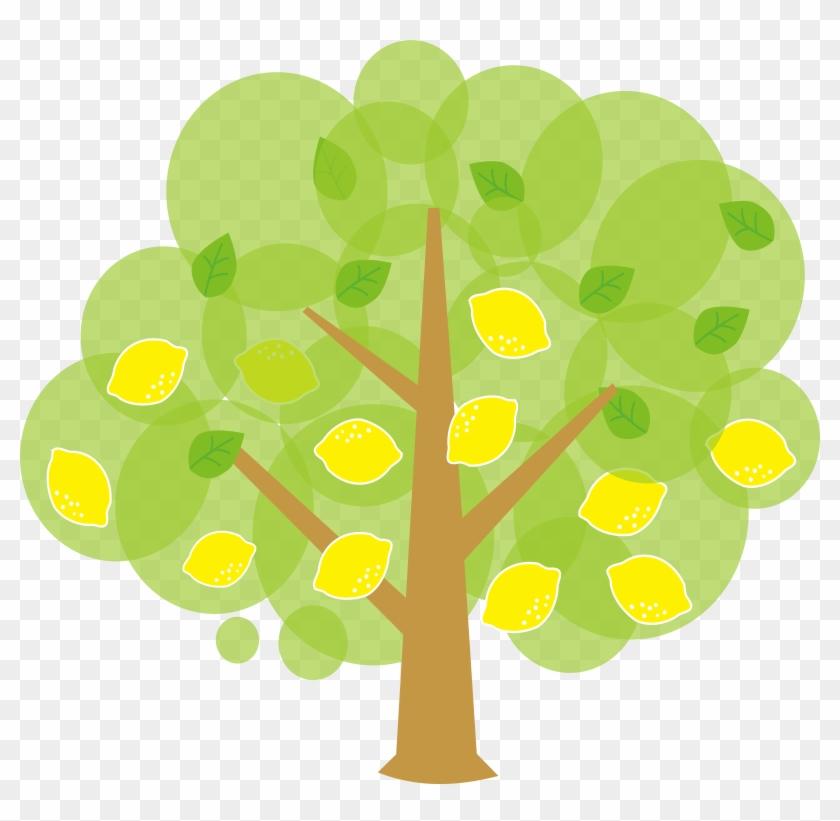 Clip Art Of Lemon Tree Clipart - Lemon Tree Clipart #23251