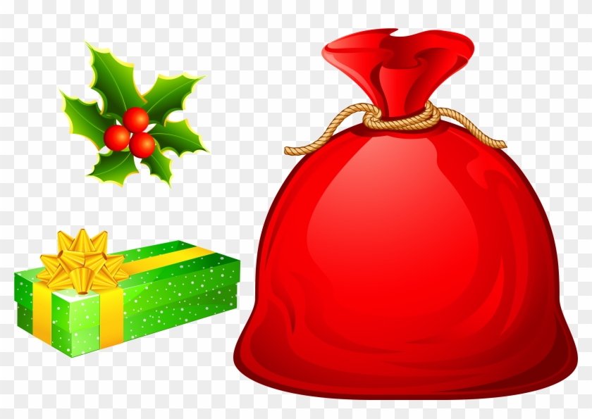 Christmas Tree - Santas Bag Clipart #23330