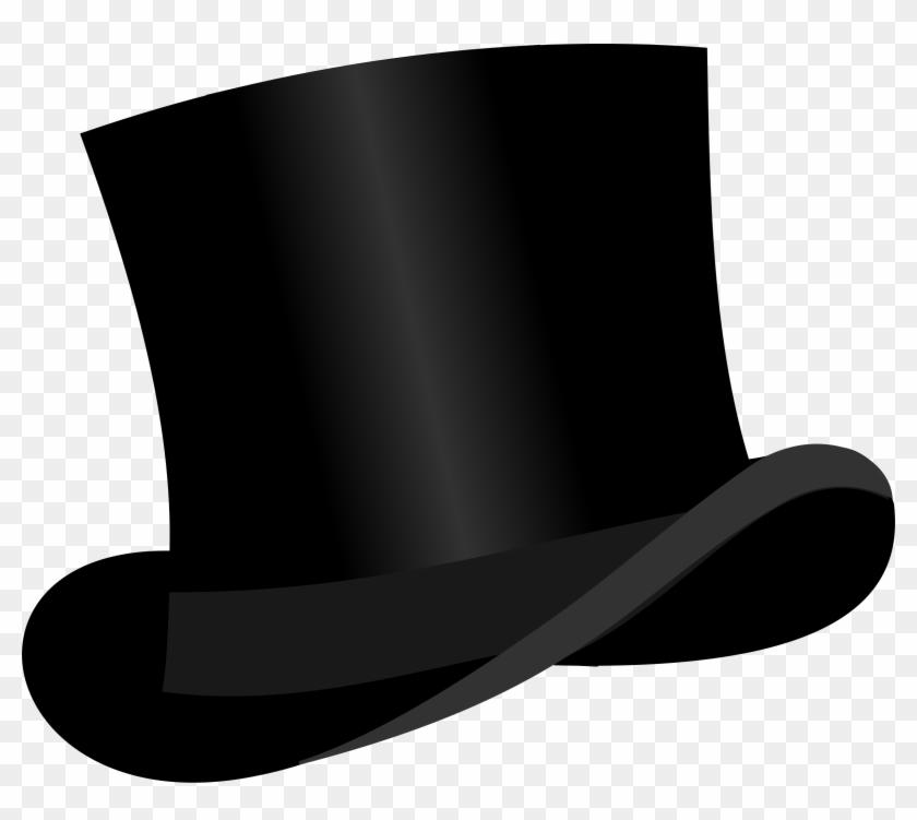 Big Image - Black Top Hat Clipart #23363