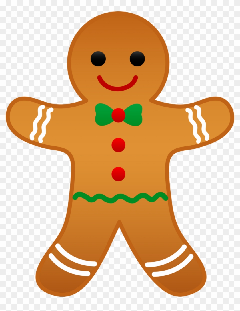 Christmas ~ Christmas Tree Clip Art Best And Holiday - Gingerbread Man Clip Art #23432
