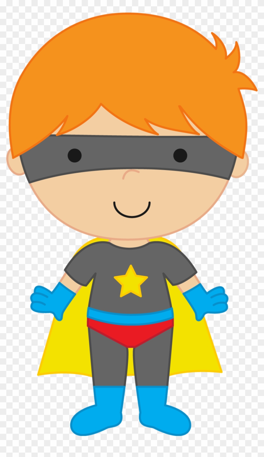Generic Super Boy And Super Girl Clipart - Superhero Clipart Png #23449