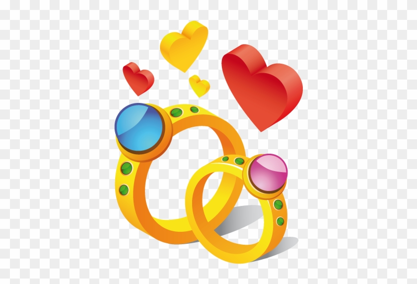 Wedding Ring Clip Art Pictures Free Clipart Images - Cute Stickers For Whatsapp #23480