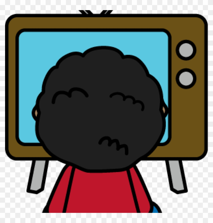 Tv Clipart Child Watching Tv Clip Art Child Watching - Kid Watching Tv Clipart #23529