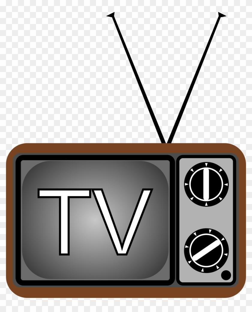 Big Image - Television Clipart #23596