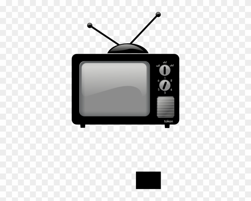 Old School Television Clip Art #23608