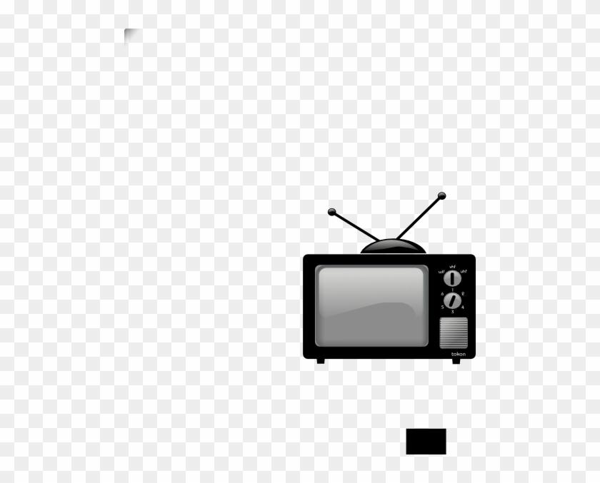 Old Tv Clip Art At Clker - Old Tv Png #23613