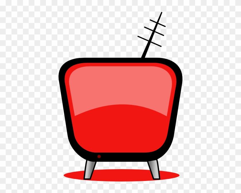 Orange Tv Clip Art #23626