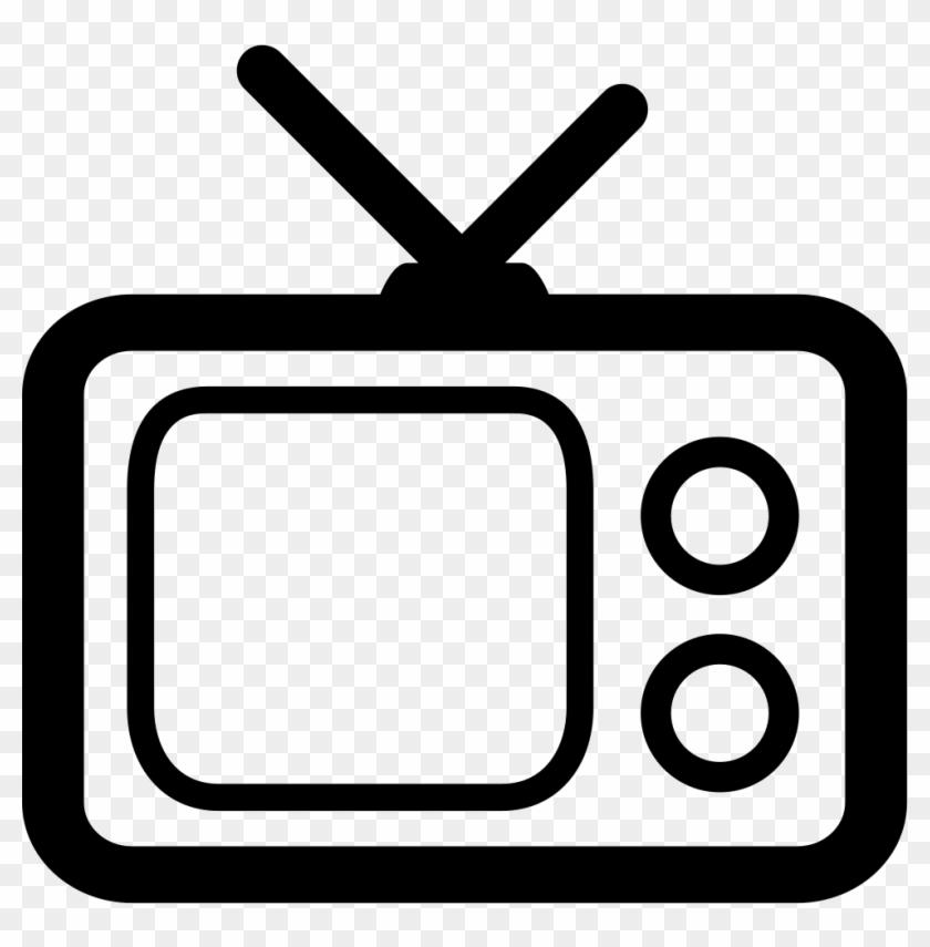 Old Tv Png - Transparent Background Tv Clipart #23665