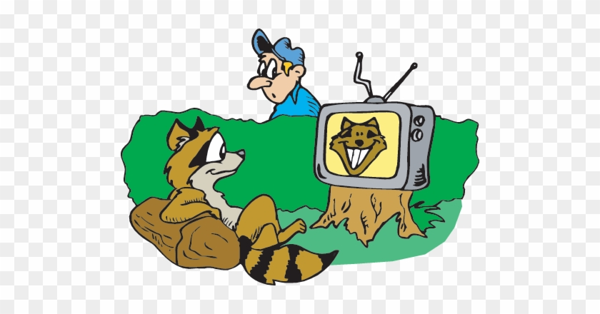 The Television - Watching Tv Clip Art #23669