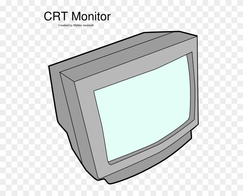 Crt Monitor Clip Art At Clker - Crt Monitor #23710