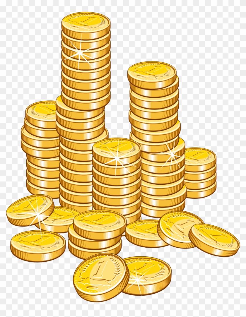 Gold Coins Clip Art #23754